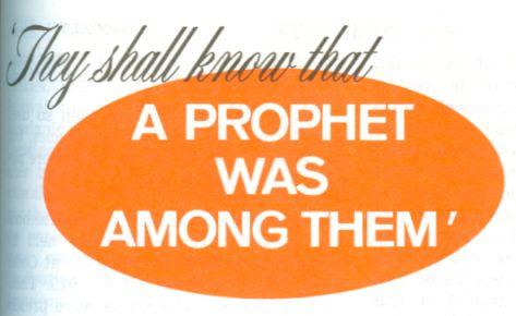 Sabrán que un profeta estuvo entre ellos - La Atalaya, 1 de septiembre, 1972, p. 517
