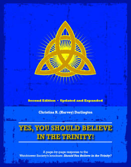 Yes, You Should Believe in the Trinity book