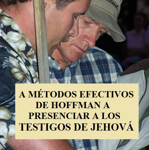 Effective Methods in Witnessing to Jehovah's Witnesses
