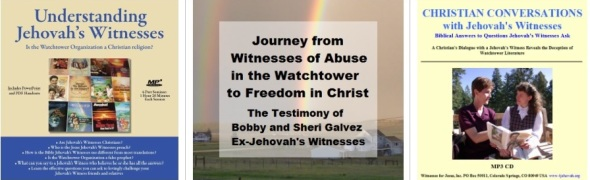 Audio CDs about Jehovah's Witnesses