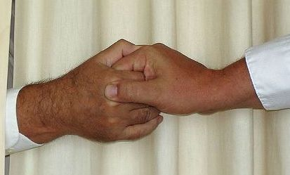 Mormon Aaronic Handshake