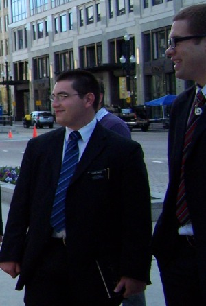 Meeting Mormon Missionaries