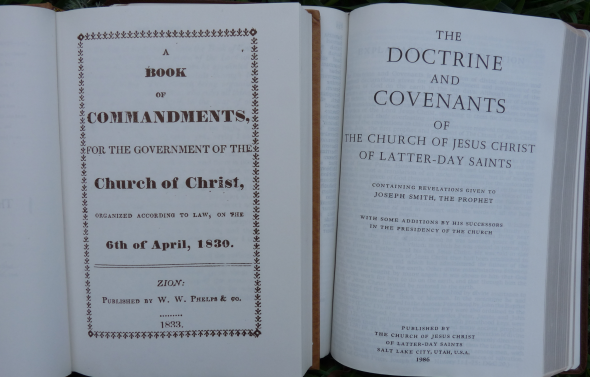 Book of Commandments and Doctrine and Covenants