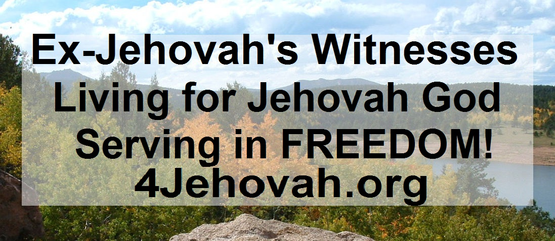 4Jehovah.org Website Banner